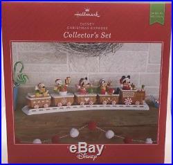 2016 Hallmark Disney Christmas Express Collector's Train Set Mickey Minnie mouse
