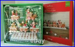 2016 Hallmark Disney Christmas Express Train-Collector's Set Limited Edition