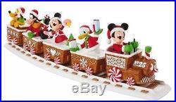 2016 Hallmark Disney Christmas Exress Train Wireless Music & Motion Complete Set