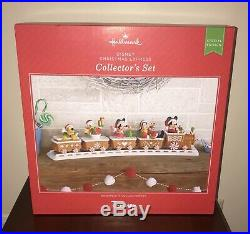 2016 Hallmark Disney Christmas Train Express Collectors Musical Complete Set