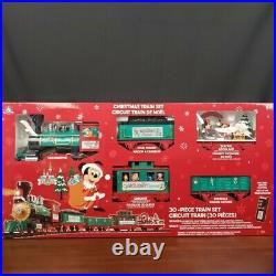 2020 Disney Parks Christmas Tree Train Set Mickey & Friends Holiday Express New