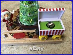 32502 BRIO Wooden Train Polar Express North Pole Light Up X-Mas Tree Set! Thomas