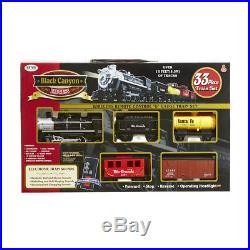 33 Piece Train Set Wireless Remote Control Light Sound Birthday Christmas Gift