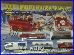 Athearn 1099 Year 2000 Train Set Limited Edition New Ho Vintage Christmas