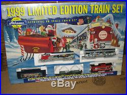 Athearn Year Train Set Limited Edition New Ho Vintage Christmas F7 Diesel