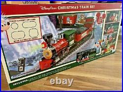 BNIB Disney Store Disneyland Paris Electric Christmas Train Set, 2020, Mickey