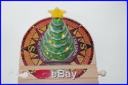 BRIO Polar Express Wooden Train Set Light-Up Christmas Tree Bell Trains Santa +