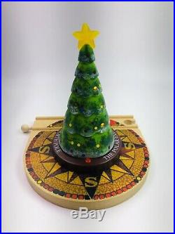 BRIO Polar Express Wooden Train Set Light-Up Christmas Tree Elves Hot Chocolate