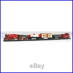 Bachmann 00724 HO-Scale Jingle Bell Express Christmas Train Set, with Steam Engine