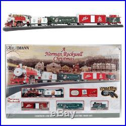 Bachmann 00741 A Norman Rockwell Christmas Electric Train Set HO Scale