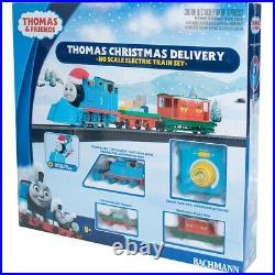 Bachmann 00755 Thomas Christmas Delivery & Friends Electric Train Set HO Scale