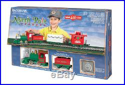 Bachmann 90198, G Scale, Li'l Big Haulers North Pole Express Christmas Train Set