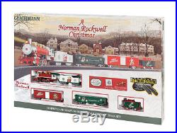 Bachmann A Norman Rockwell Christmas Train Set HO Scale