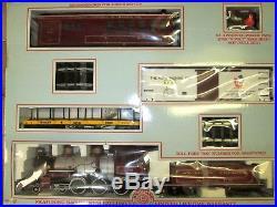 Bachmann Big Haulers Red Comet Christmas Railroad Train G Scale Set Free Ship