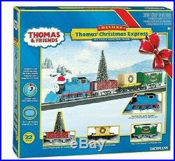 Bachmann HO 00721 Thomas' Christmas Express Freight Set Train Set RTR NEW