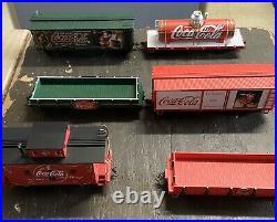 Bachmann Ho-on30 Hawthorne Coca Cola Christmas Holiday Express Train Set