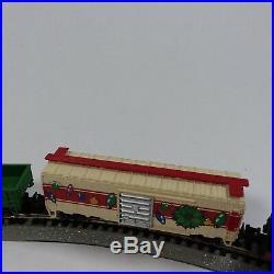 Bachmann N Scale Train Set White Christmas Express E-Z Track System +16 Track pc