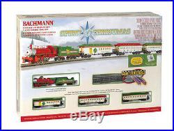 Bachmann N Spirit of Christmas Steam Train Set 24017 NIB NEW