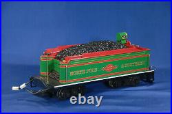 Bachmann North Pole Southern Holiday Christmas Electric Train Set G-Scale