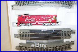 Bachmann On30 Hawthorne Village Coca Cola Christmas Through The Years Train Set