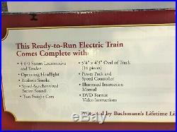 Bachmann Steam Engine Night Before Christmas Train Set G Gauge 4-6-0 New