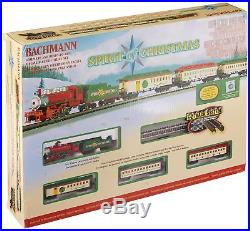 Bachmann Trains Spirit Of Christmas, N Scale Ready-to-Run Electric Train Set
