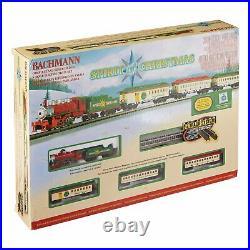Bachmann Trains Spirit Of Christmas Ready-To-Run N Scale Train Set 24017-BT