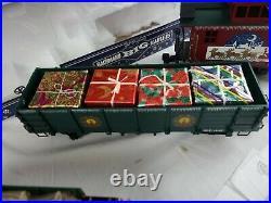 Bachmann White Christmas Express Electric Train Set Large G Scale 90023