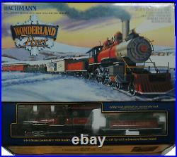 Bachmann Wonderland Flyer Large Scale Christmas Train Set