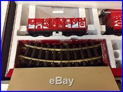 Brand New Lgb 72510 Coca Cola Red Trunk Christmas Train Set- Complete Set