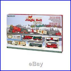 Christmas Jingle Bells Express HO Scale Ready-to-Run Electric Train Tracks Set