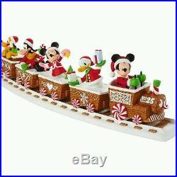 Complete 2016 Hallmark Disney Christmas Express 5 Piece Musical Train Set
