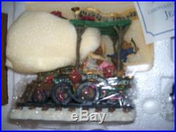 Danbury Mint Boyds Bears Bearatone Railway Train Set MINT In Box 6 Pc Xmas