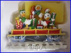 Danbury Mint Disney Mickey's Christmas Train Set
