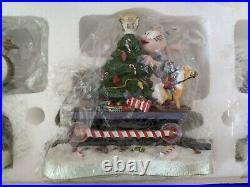 Danbury mint Garfield Christmas Express new Jim Davis train Xmas decor set new