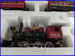 Dept 56 village xmas train express electric set 52710 locomotive