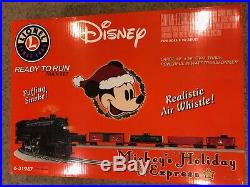 Disney Mickeys Holiday Express Christmas Train Set By Lionel BRAND NEW