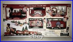 Disney Parks 30 Piece Mickey & Friends Christmas Train Set Complete