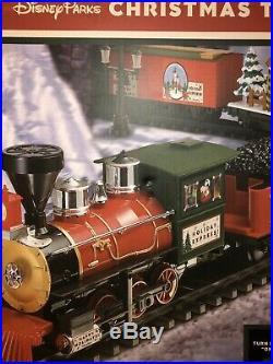 Disney Parks Christmas 30 pc Train Set Mickey & Friends NIB withremote control