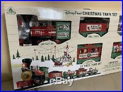 Disney Parks Holiday 2019 Christmas Train Set BRAND NEW READY TO SHIP