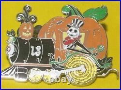 Disney nightmare before christmas holiday train pin set LE 100 Halloween