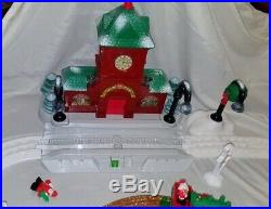 Fisher Price GEOTRAX North Pole Express Christmas Toy Town Tracks Push Train Set