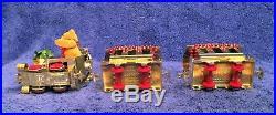 GNOMY LGB Gold Train Christmas Bear 9¾ Train Set 1 Stainz Loco & 2 Cars 80980