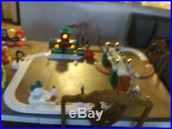 Geo trax Christmas train set and train set