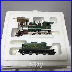 HAWTHORNE VILLAGE Thomas Kinkade's Christmas Train Express Complete Set