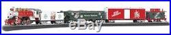 HO A Norman Rockwell Christmas Model Train Set Ready To Run 47 x 38 oval