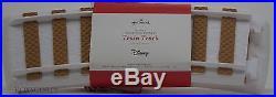 Hallmark 2016 Disney Christmas Express Train Full Set Track Mickey Minnie Pluto