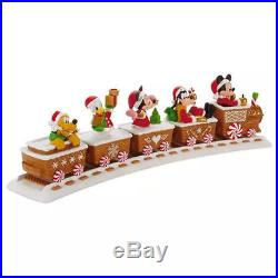 Hallmark 2016 Disney Christmas Express Train Musical Set of 6 including track