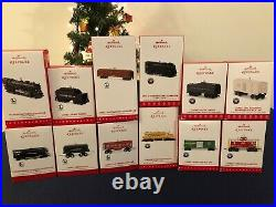 Hallmark Keepsake Ornaments LIONEL TRAINS, COMPLETE SERIES (Set Of 65!)