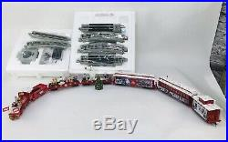 Hawthorne Bachmann Rudolph Reindeer Christmas Train Express Village Set RARE